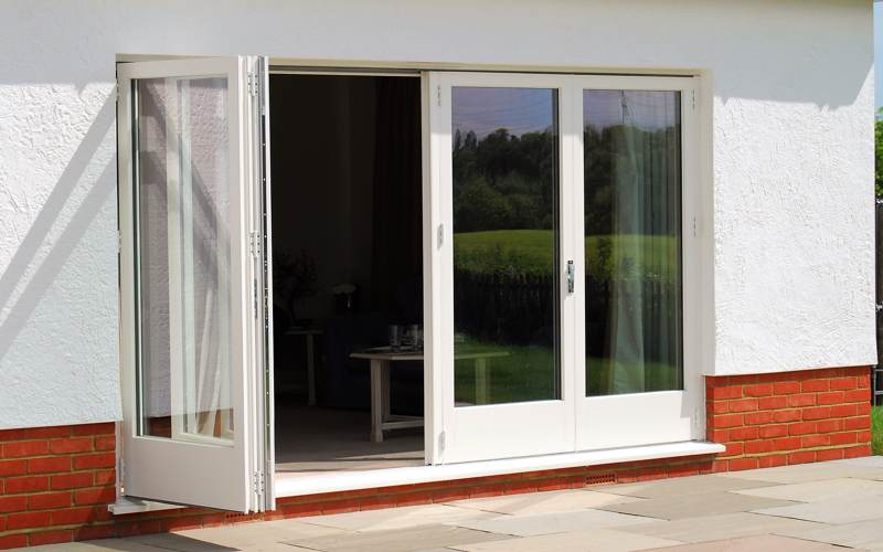 Image of a multifold door